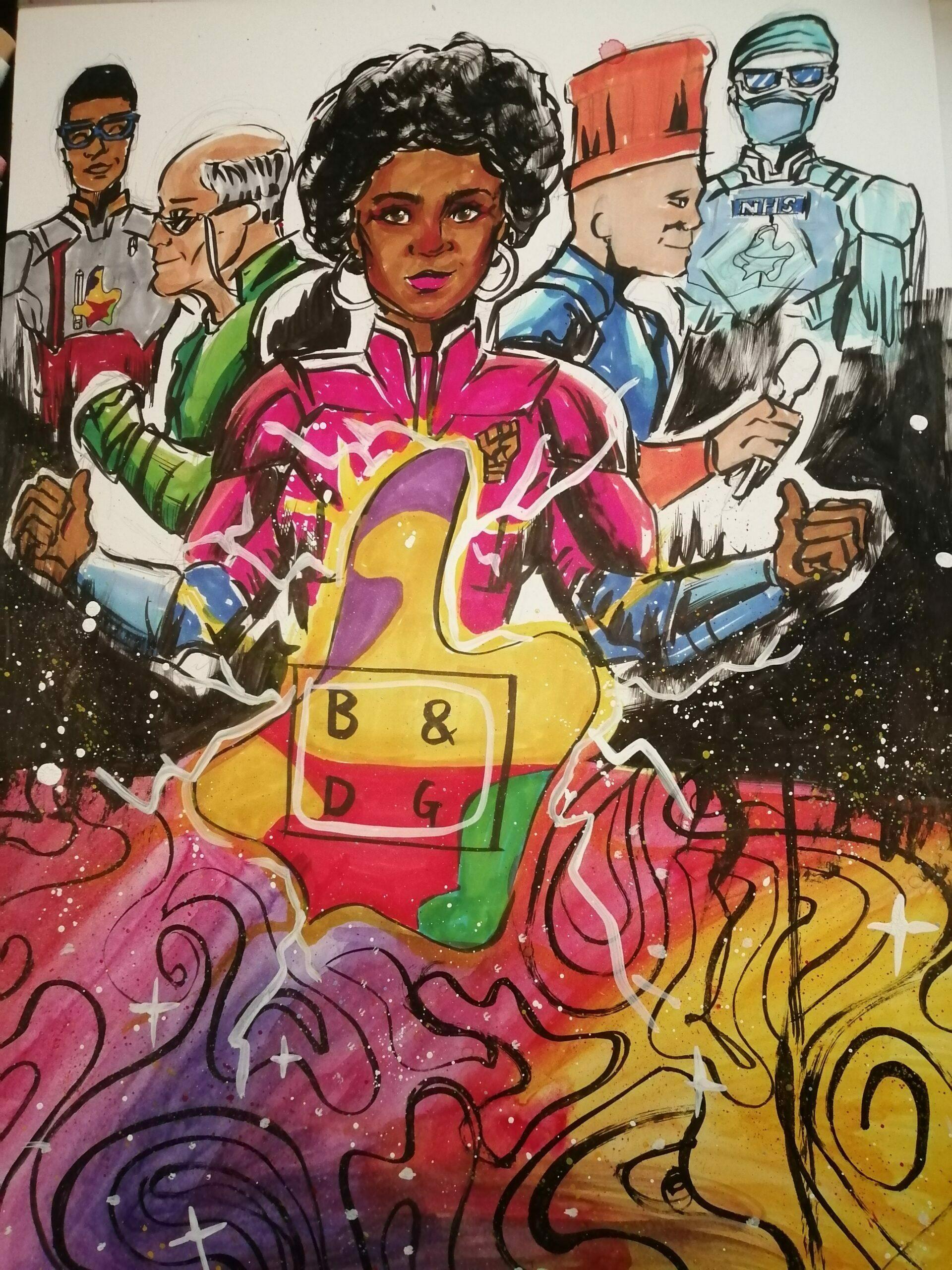 Emmanuel Oreyene Endowment Artwork: BD Giving as a source of power for the community